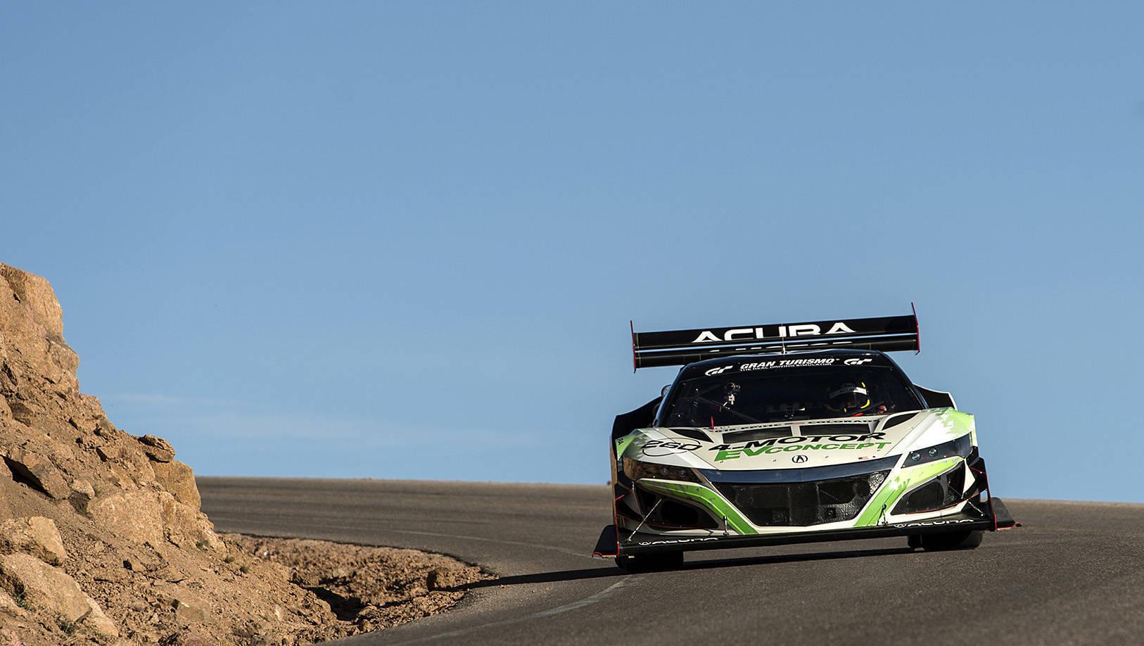 Acura NSX-inspired 4-Motor Acura EV Concept 2016 Pikes Peak