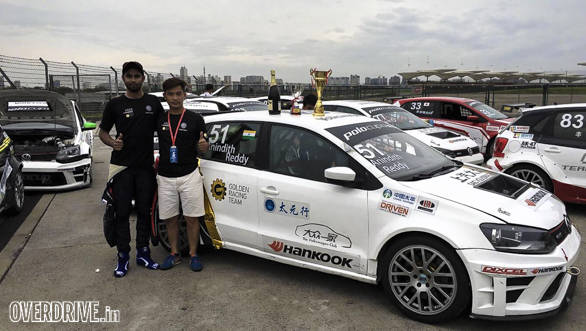Anindith Reddy Volkswagen Polo GTI Cup China _ 3