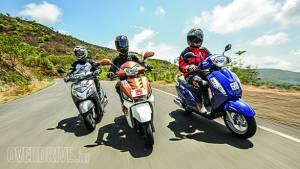 Comparo: Suzuki Access 125 vs Mahindra Gusto 125 vs Honda Activa 125
