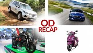 ODRecap: Jaguar XE Prestige variant, TVS Jupiter MillionR launched and more