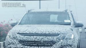 Spied: 2017 Chevrolet Trailblazer caught testing in India