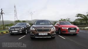 Comparo: 2016 BMW X1 vs Audi Q3 vs Mercedes-Benz GLA