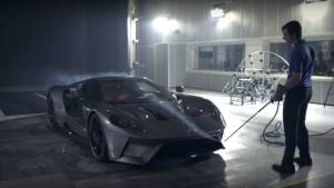 Video worth watching: Wind tunnel testing of the 2017 Ford GT