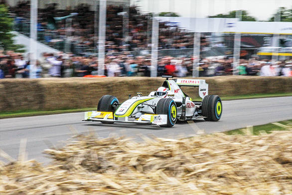 The Brawn GP that wowed everyone back in 2009 completely dominating the championship and winning the title on its debut