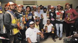 Syed Asif Ali wins 2016 Gulf Monsoon Scooter Rally