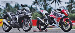 Inside the Honda CBR 250R race-bike