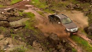 2016 Isuzu D-Max V-Cross road test review
