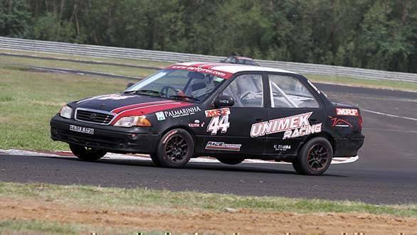 Keith Desouza won the Indian Junior Touring Cars class