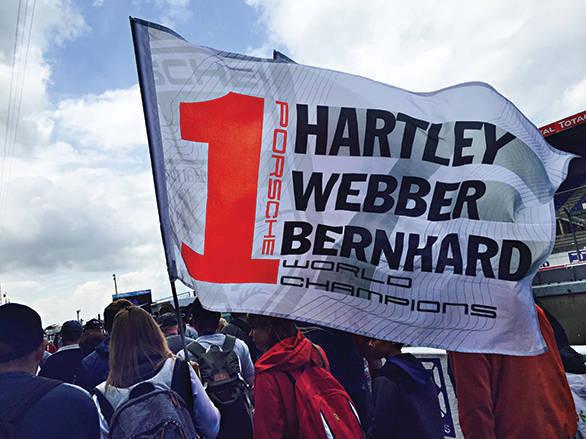 Big support for defending WEC champions Hartley, Webber and Bernhard