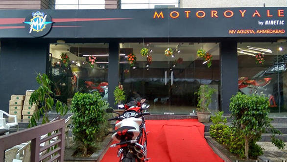 MV Agusta India Showroom gujarat 01