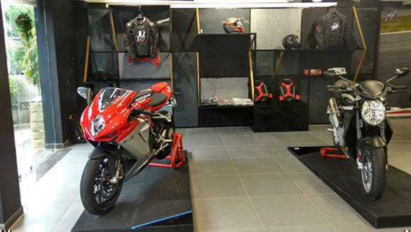 MV Agusta India Showroom gujarat