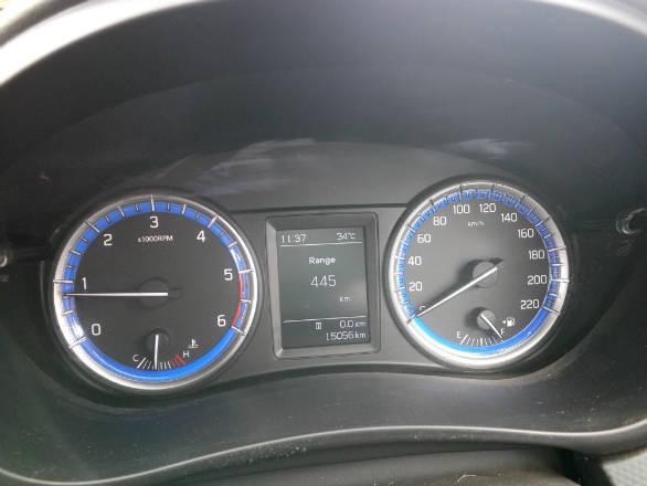 Maruti Suzuki S-Cross instrument cluster speedometer