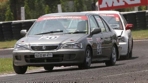 Deepak Ravikumar won the Superstock class race