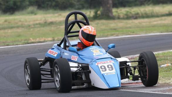 Raghul Rangaswamy took his second win of the weekend in the F1300 class