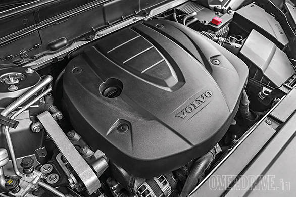 The Volvo's engine is refined but lacks the punch of the Mercedes' motor