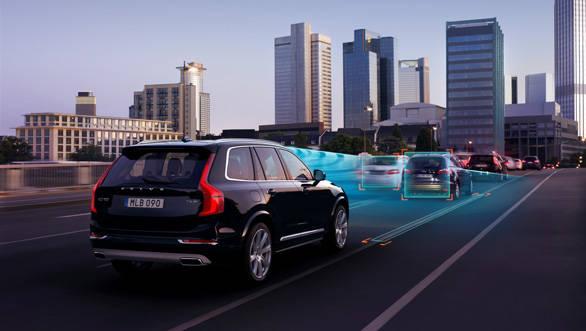 Volvo Intellisafe technologies