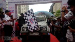 2016 Maruti Suzuki Dakshin Dare flagged off from Bengaluru