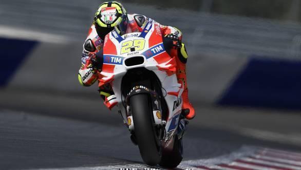 2016 MotoGP Spielberg Austria Qualifying - Andrea Iannone