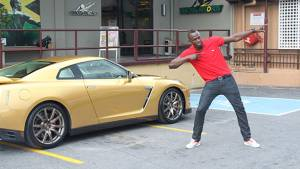 Usain Bolt, fast cars and his perfect road trip