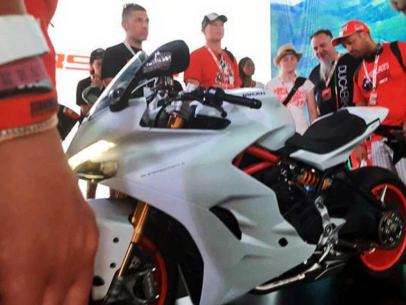 This is one of the spied images of the 939 SuperSport. For more details, visit motorcyclenews.com