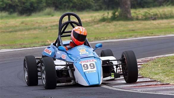 Raghul Rangasamy (F1300 Rookie Championship)