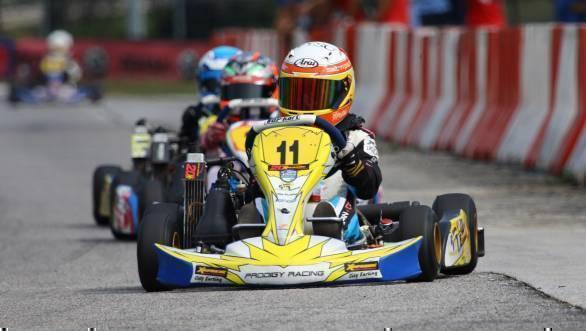 Shahan Ali Mohsin Asia Max Championship lead
