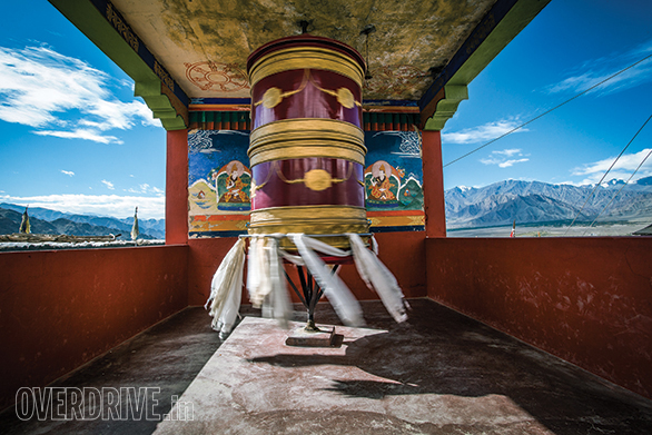The Thiskey Monastery is near the town of Leh and has incredible views as well as architecture. And a sense of endless peace
