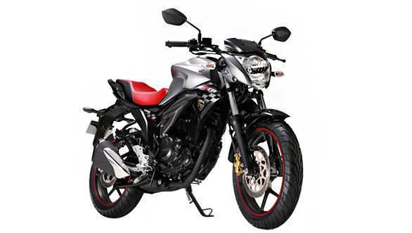 2016 Suzuki Gixxer special edition