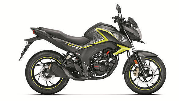 Honda CB Hornet 160R special edition two