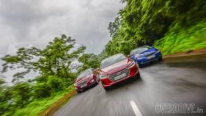 Comparo: Hyundai Elantra vs Skoda Octavia vs Chevrolet Cruze