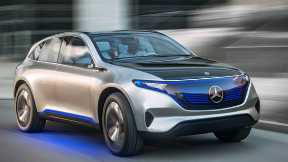 Mercedes Benz EQ Concept 1