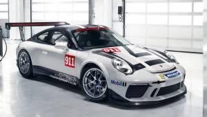 2016 Paris Motor Show: Porsche 911 GT3 Cup updated for 2017
