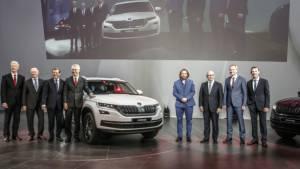 India-bound Skoda Kodiaq SUV unveiled in Berlin