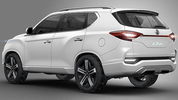SsangYong LIV-2 Concept two