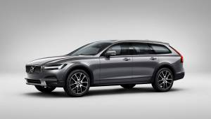 India-bound Volvo V90 Cross Country unveiled