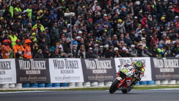 Crutchlow took the win by over four seconds from Valentino Rossi