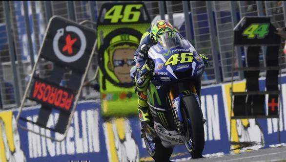 Rossi now leads Jorge Lorenzo by 24 points in the battle for second place in the 2016 MotoGP championship standings