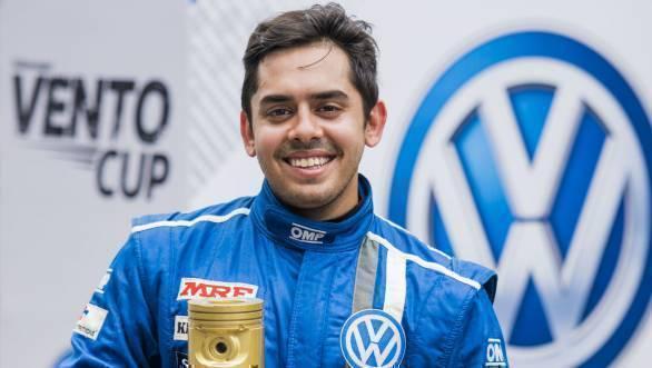 2016 Volkswagen Vento Cup Champion - Ishaan Dodhiwala