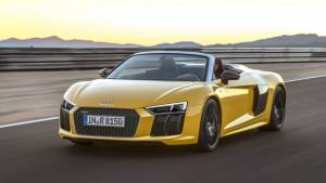 India-bound 2017 Audi R8 V10 Spyder first drive review