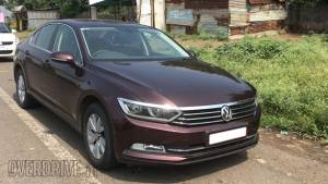Spied: 2017 Volkswagen Passat 2.0 TDI spotted in India