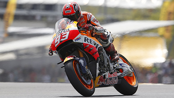 The French GP, Round 5, proved to be a challenging one for Marquez. After recovering from a crash in Lap 7 he managed to finish 13th, pushing him to down to second in the overall standings