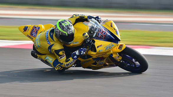 Anthony Keith West, winner of SuperSport 600cc race (Oct 01)