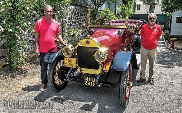 Benz Model Runabout Tourer (6)