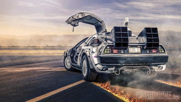 DeLorean DMC Back to the future (2)
