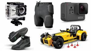 Gear and gadgets: SJCam SJ4000 WiFi, Forcefield Action Shorts , Puma Upole Nico, Lego Caterham 620R
