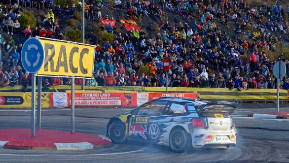 It was an error-free rally for Ogier, while his team-mates baulked under pressure