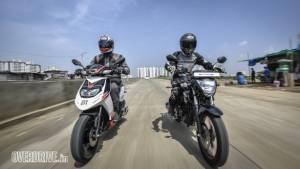 Comparo: Aprilia SR150 vs Suzuki Gixxer