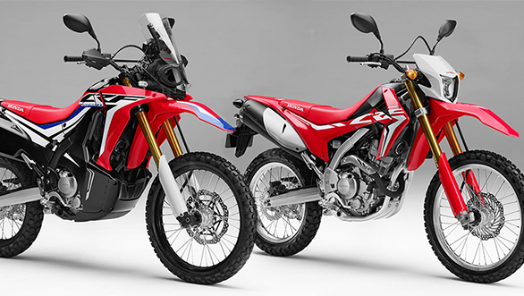 eicma 2016 honda crf250l and crf250 rally unveiled. Black Bedroom Furniture Sets. Home Design Ideas