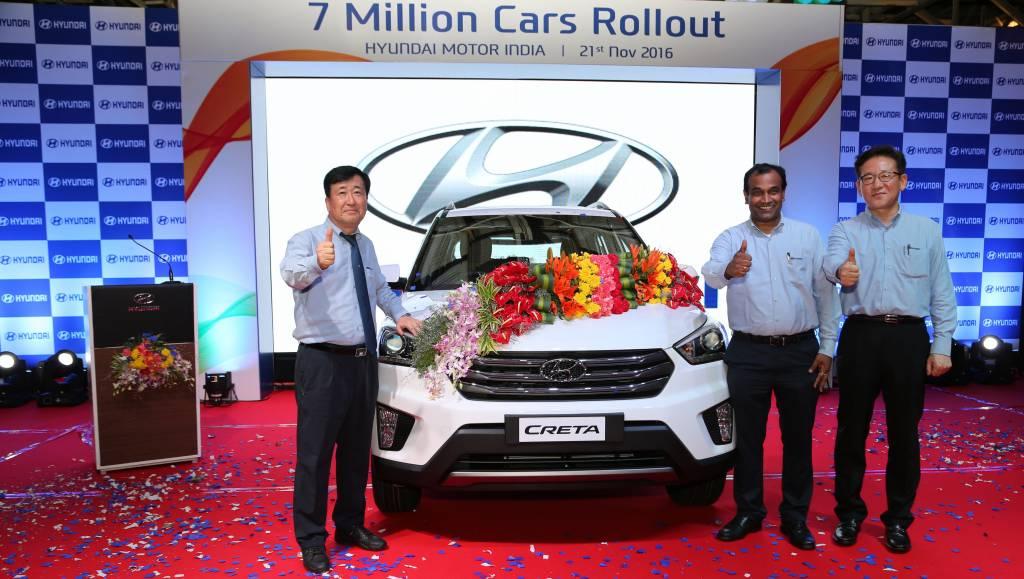 Hyundai 7 millionth car