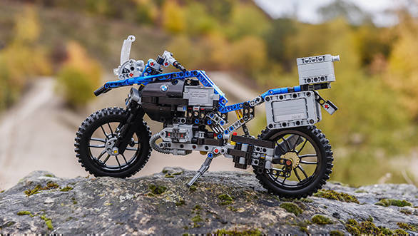 Lego scale model BMW R 1200 GS Adventure _1